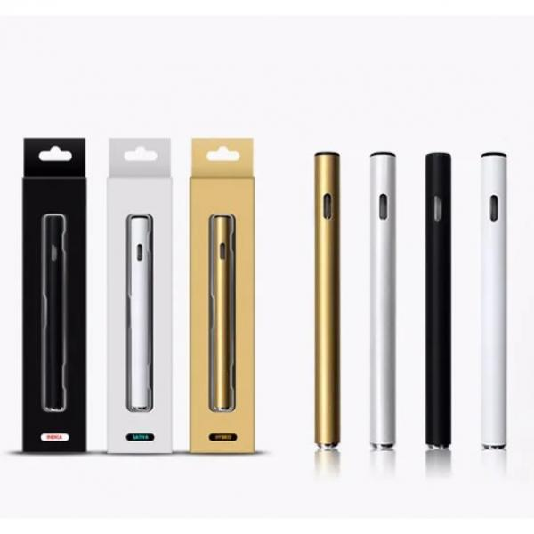 1.88USD! No Oil-Leaking 0.5ml Atomizer Cbd Dipsoable Cbd E Cigarette Disposable Vape Pen Lu1
